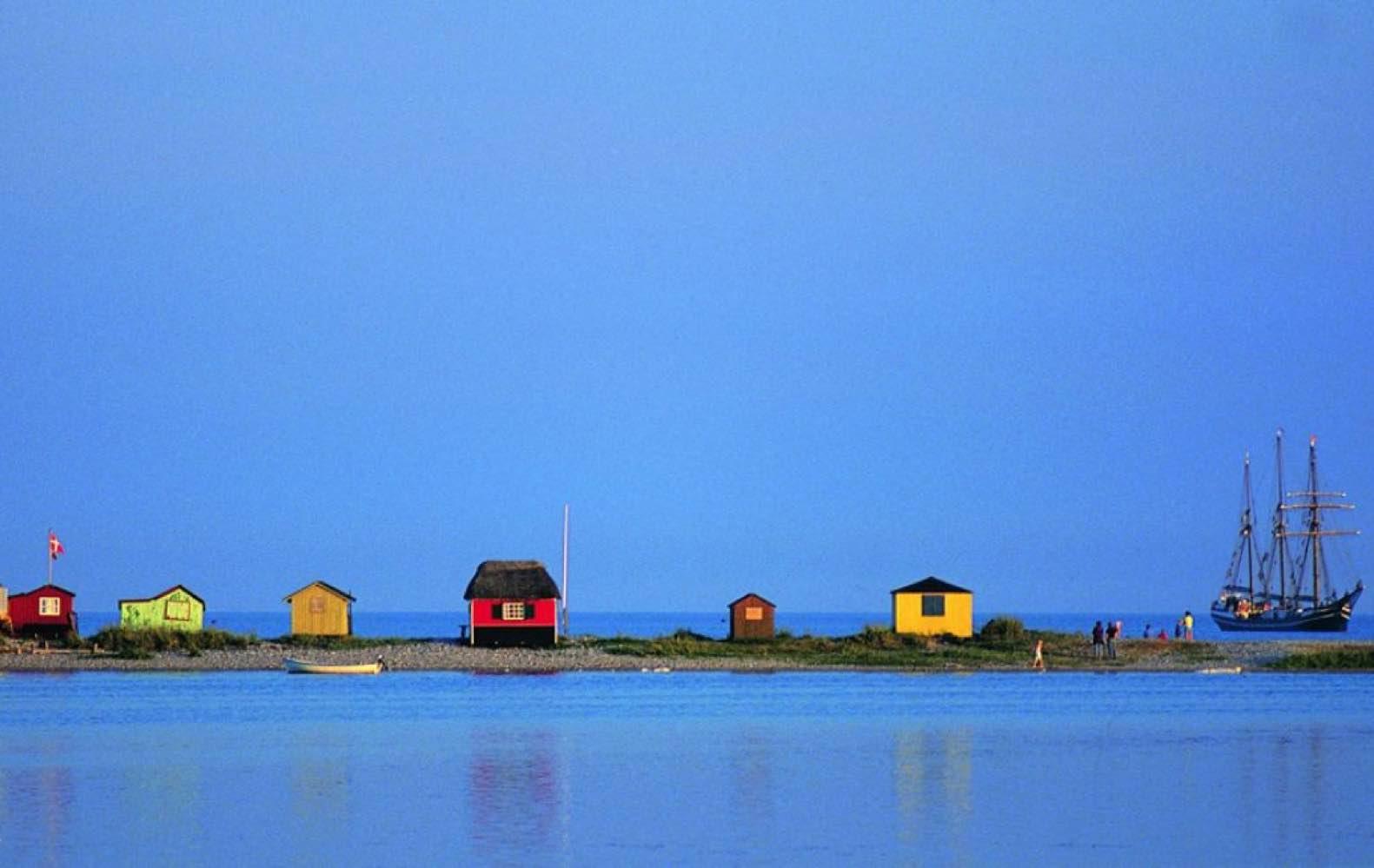 Bli med til 12 populære øyer i Danmark
