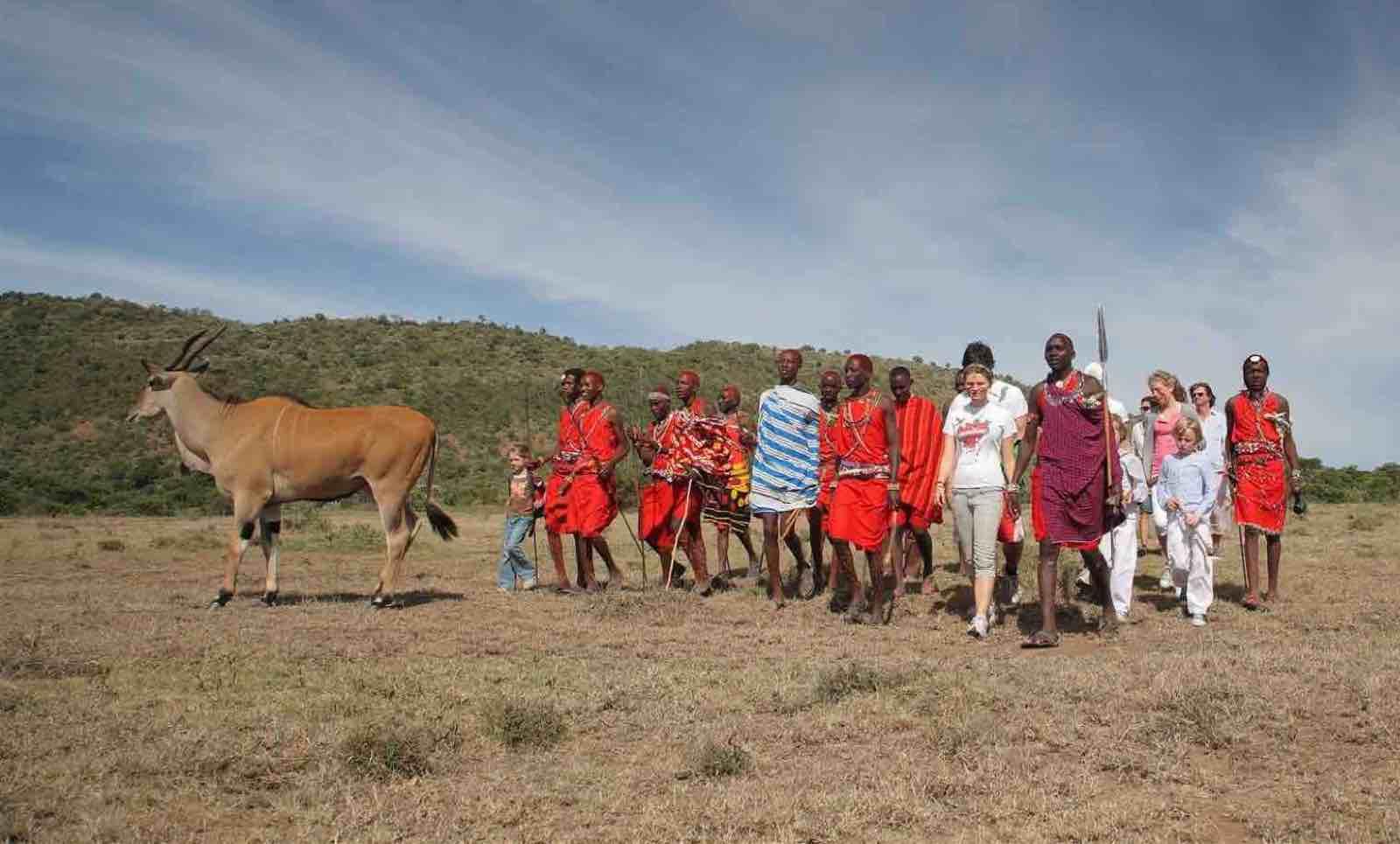 Kenya; Safari og magiske dager på Saruni Mara