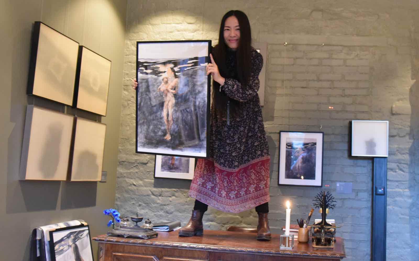 Slipp kunstnerne løs i Oslos minste kunstgalleri