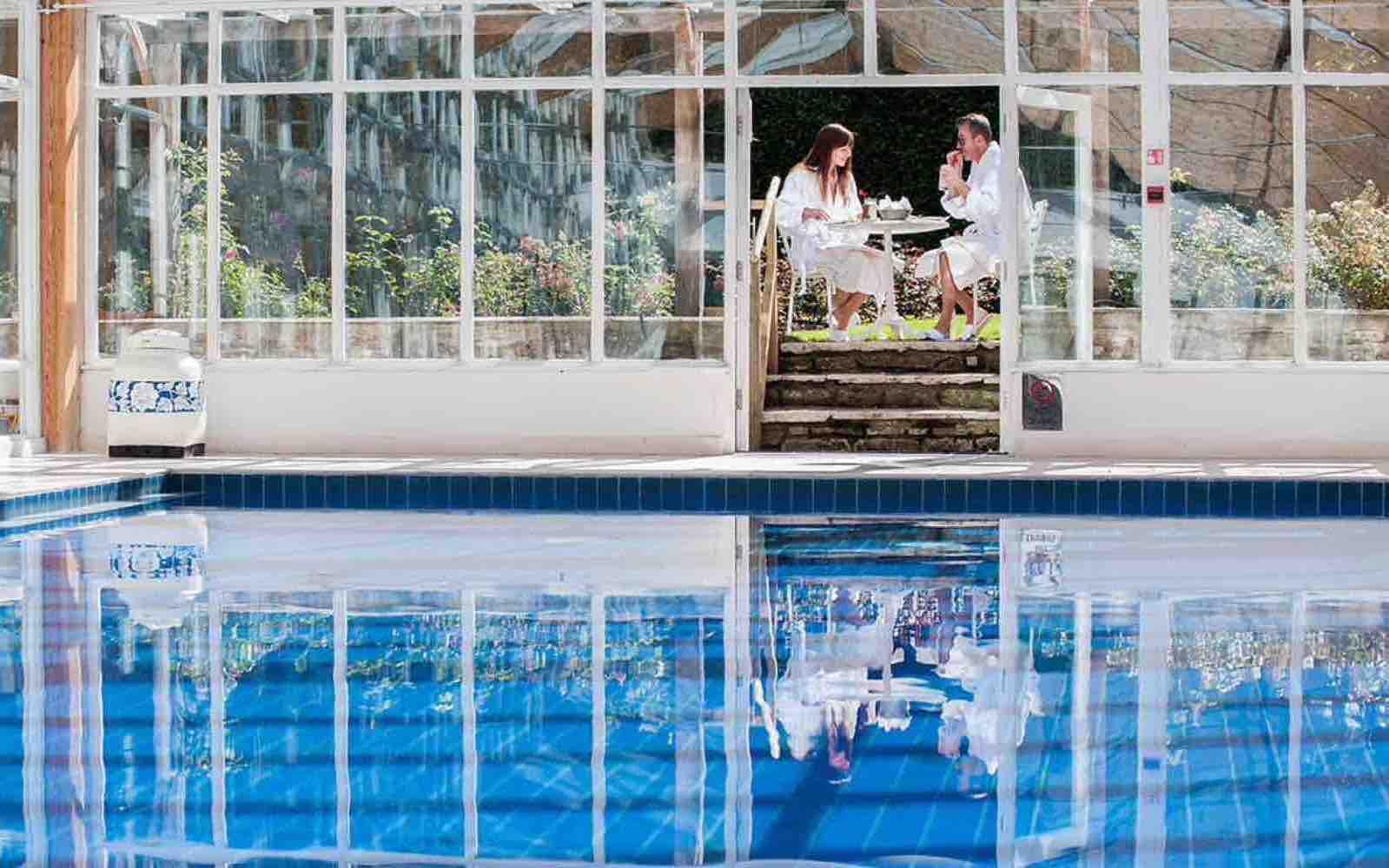 England; Romantisk hotell luksus og god mat