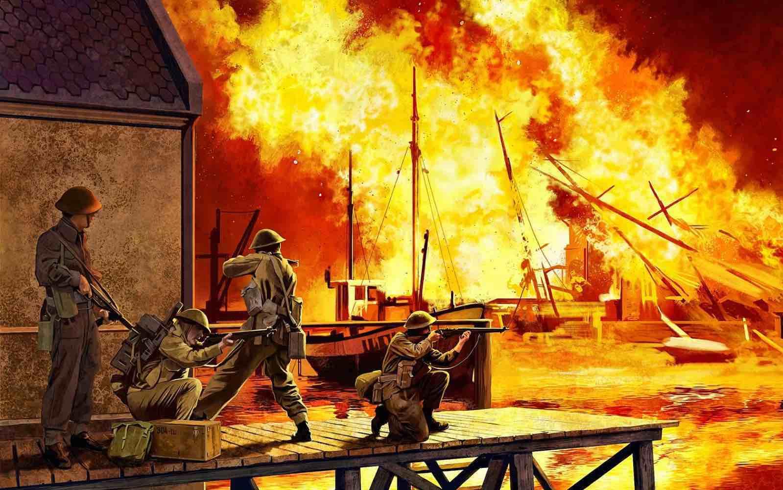 Måløyraidet; Krigshistorien er blitt up to date