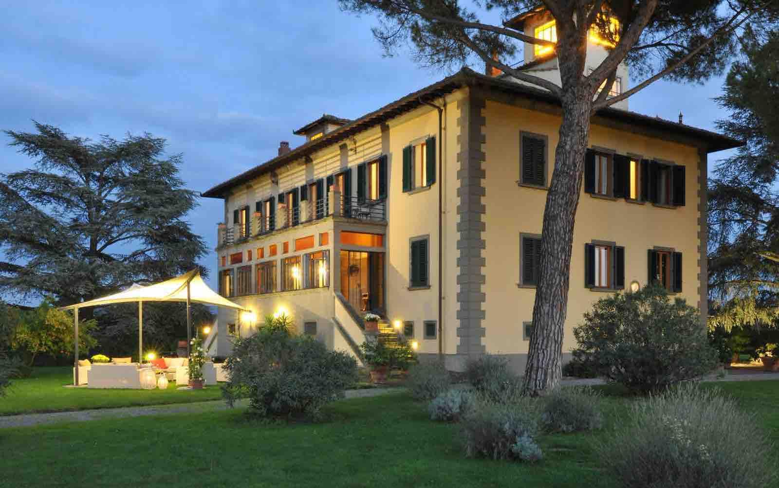 italiensk villa