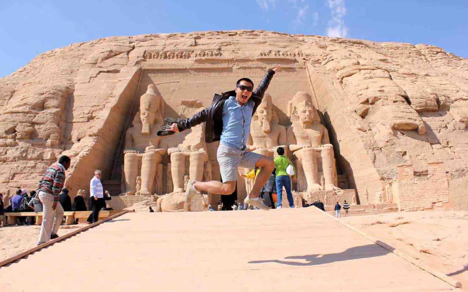 Cruise på Nilen; Dovne dager og silkemyke netter