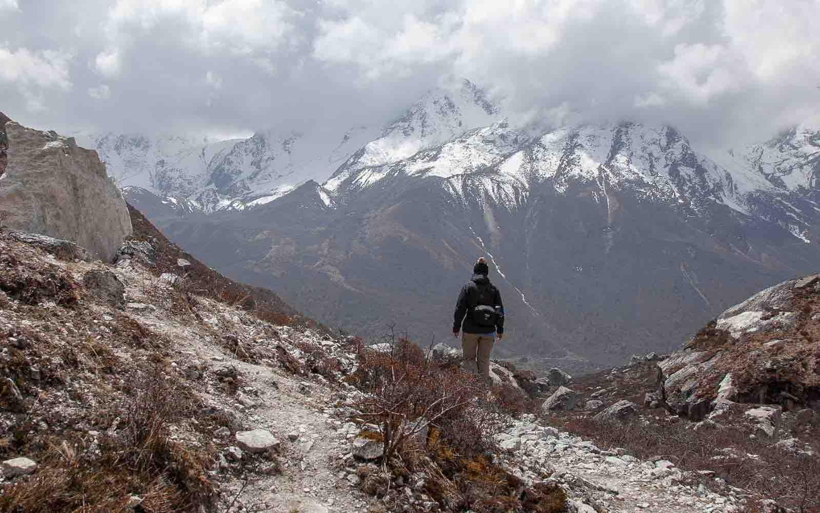 En tur til fots i Himalaya som alle kan klare