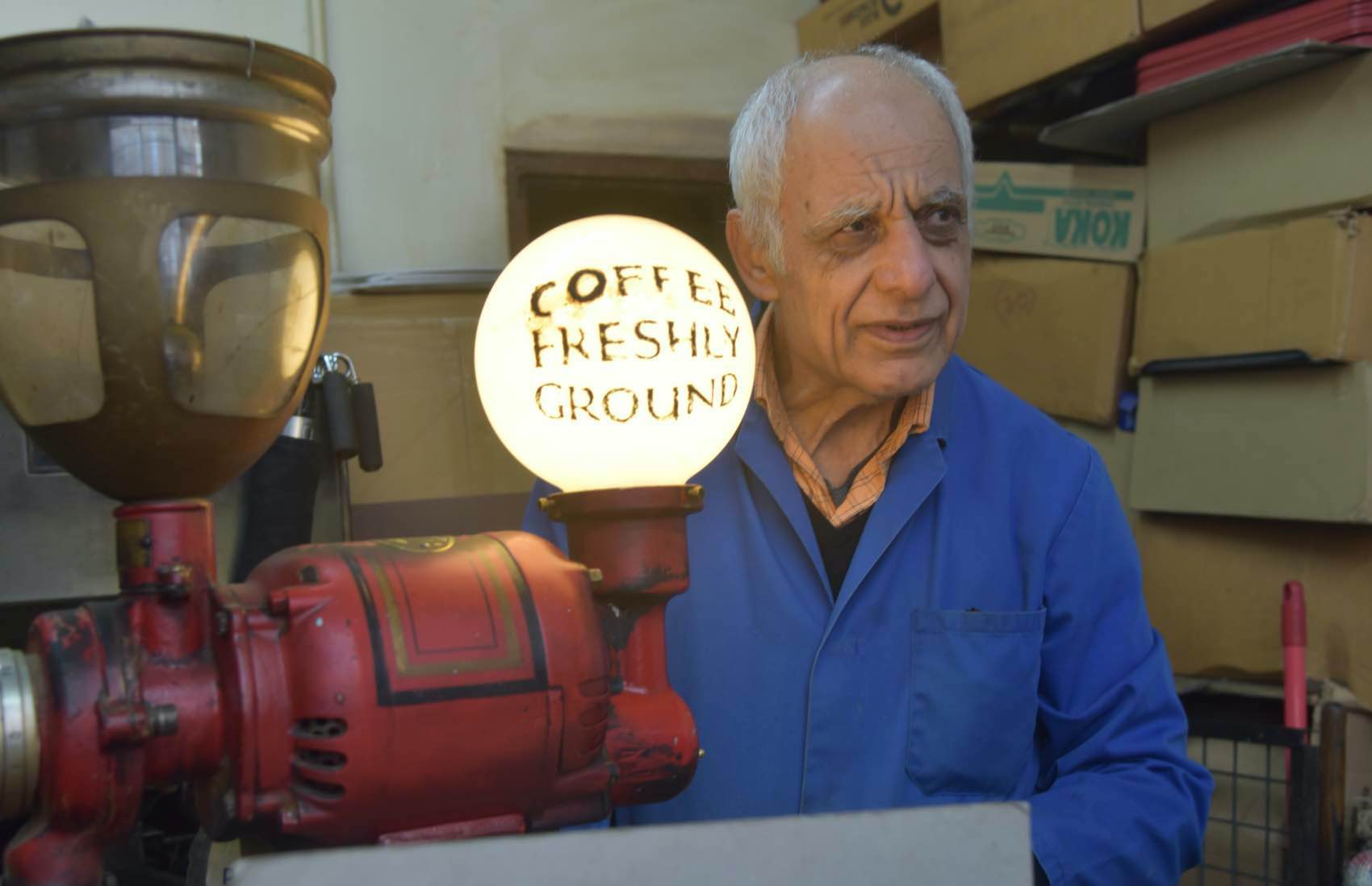 Følg duften av mørk Santos til Camden Coffee Shop