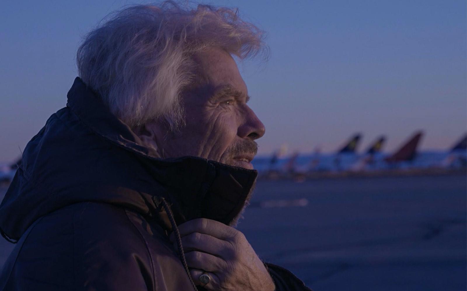 Richard Branson Romreiser snart klar for universet