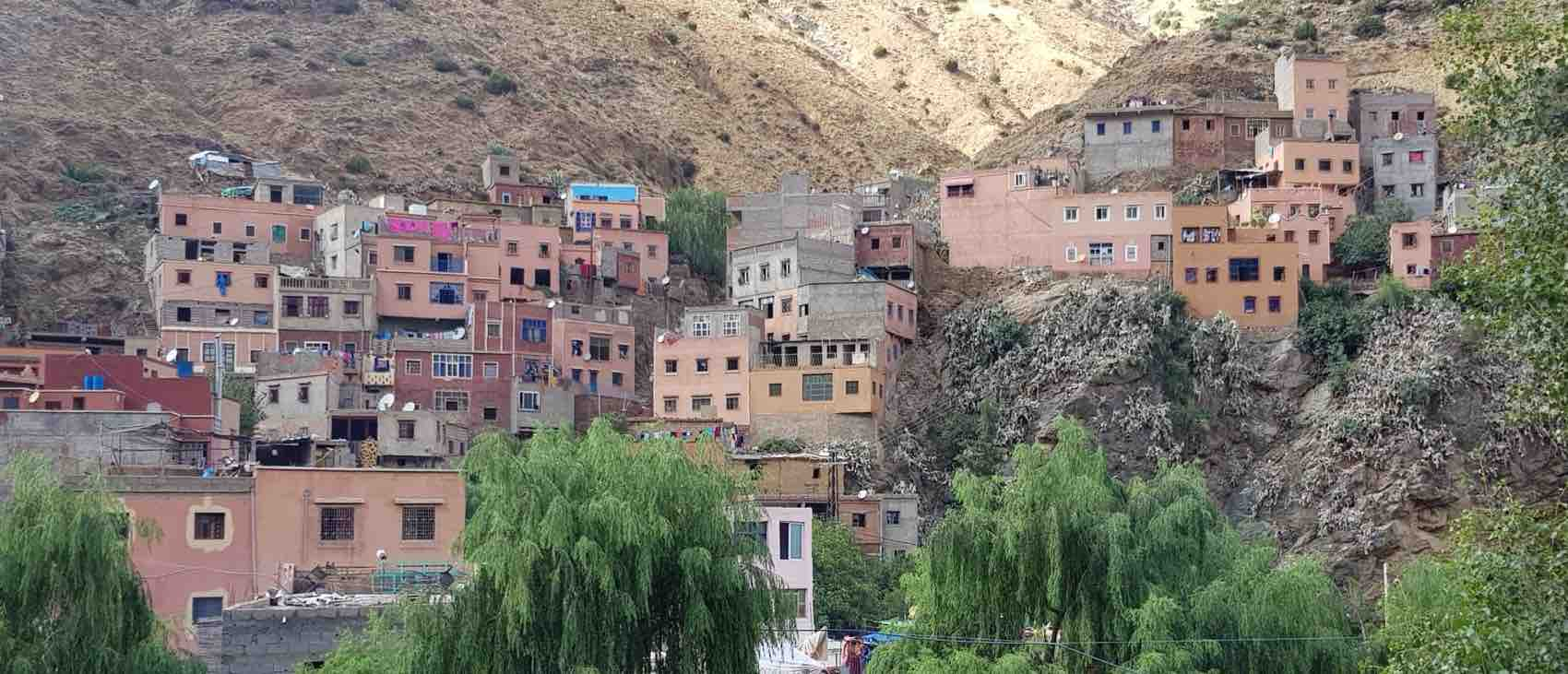 Ourikadalen i Marokko