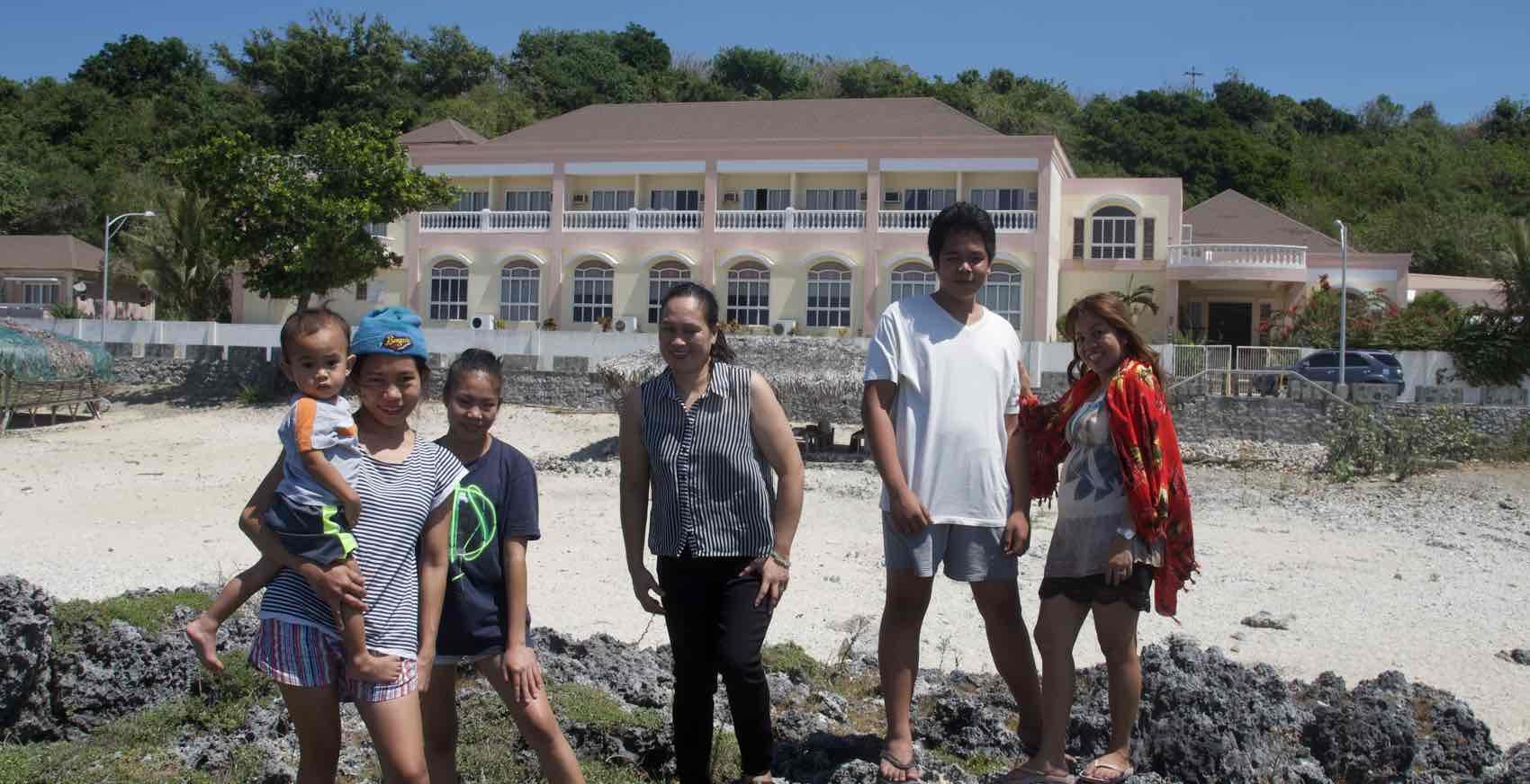turist på Filippinene