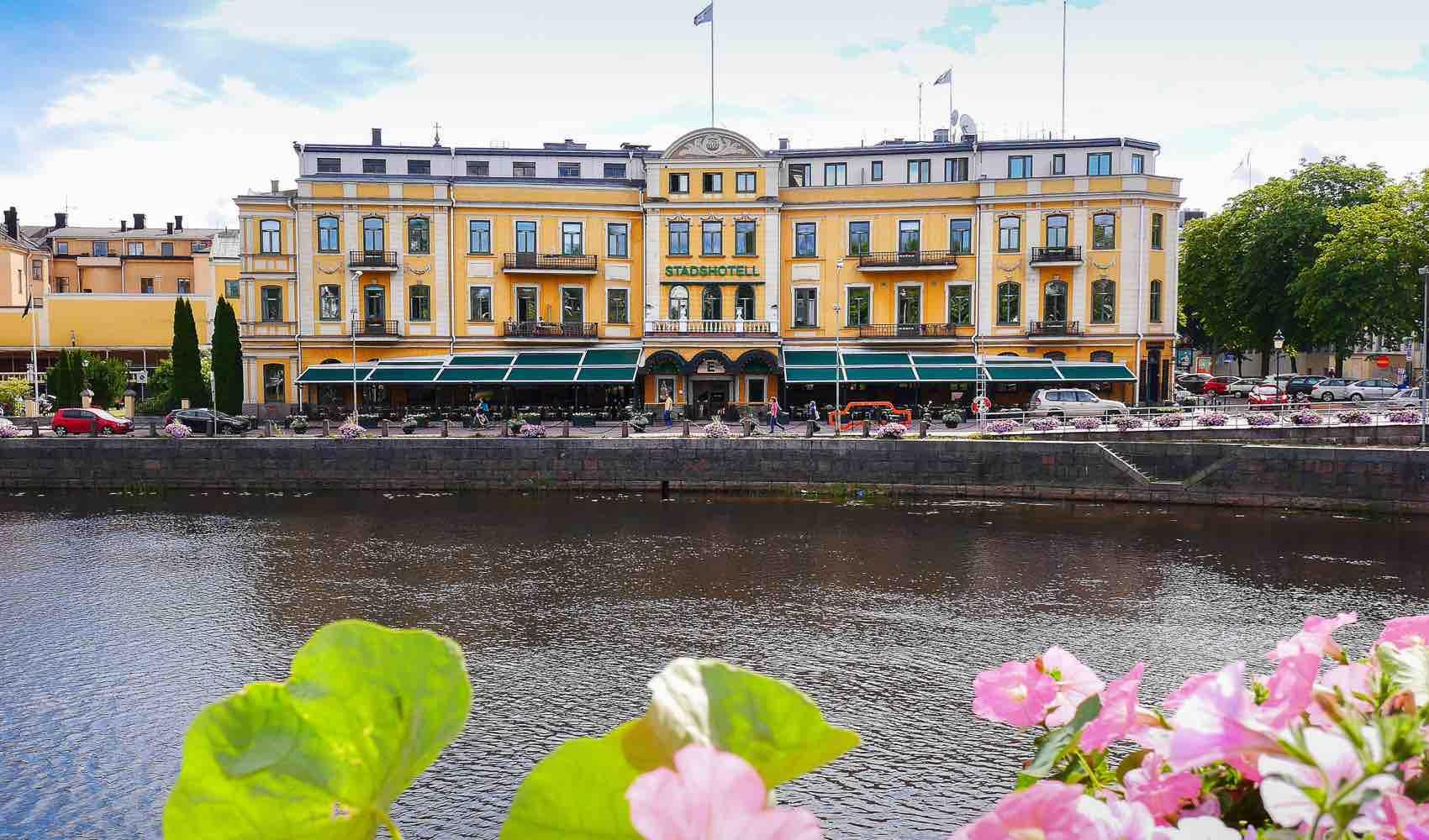 På Sadshotellet i Karlstad bodde The Beatles på 1960-tallet