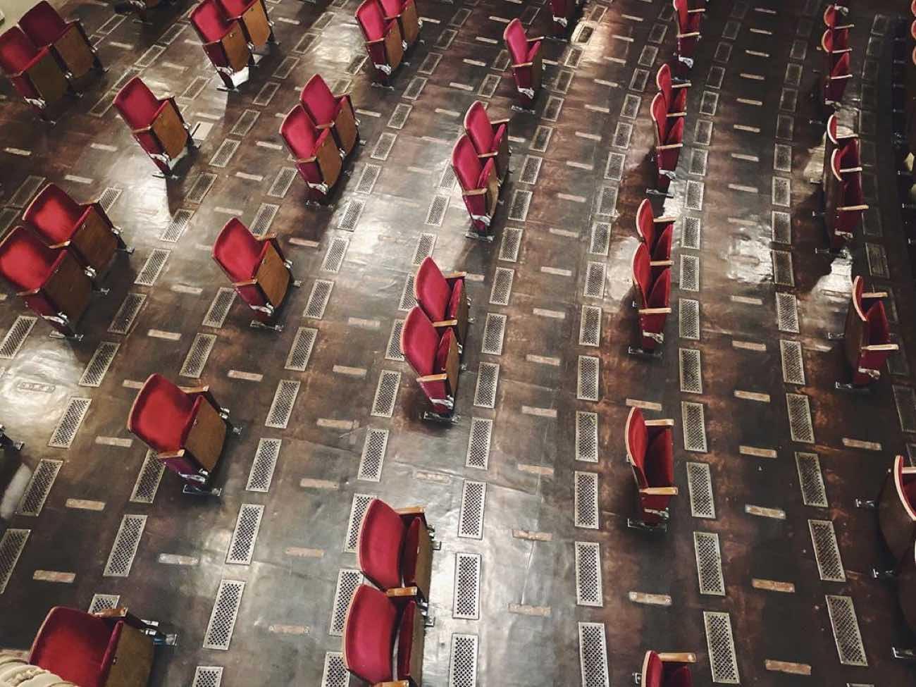 Færre stoler: Slik fremstår den nye Teater-salen til Berliner Ensemble
