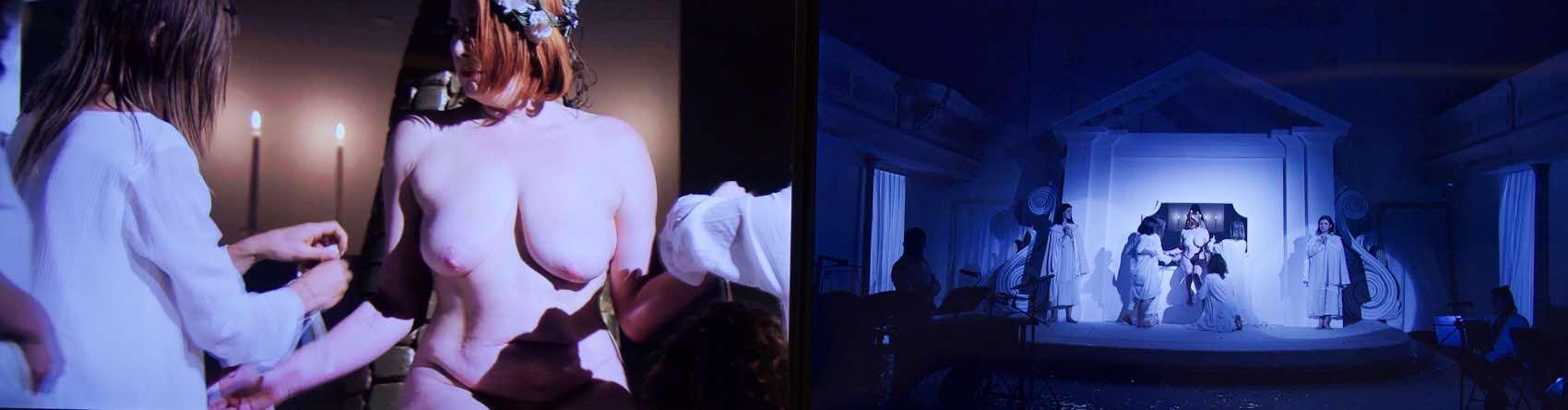 En lang video i all sin nakenhet: Erotisk kunst i London pg temmelig spesielt
