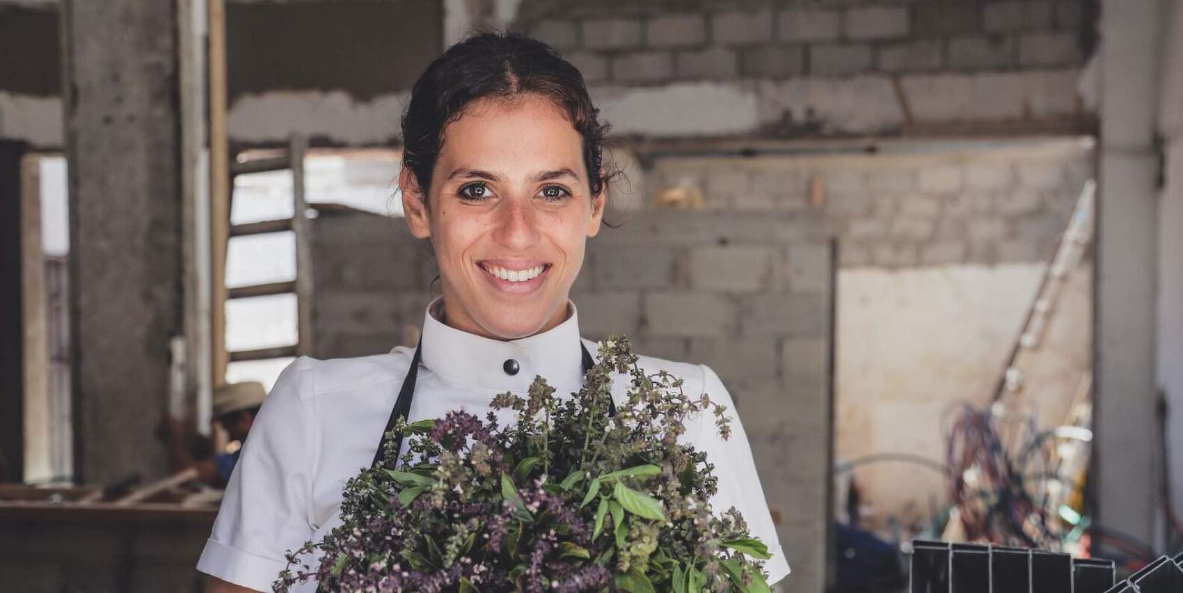 Amerikanske Shiril Berger, en ny stjerne-chef på den kulinariske himmel i Tel Aviv