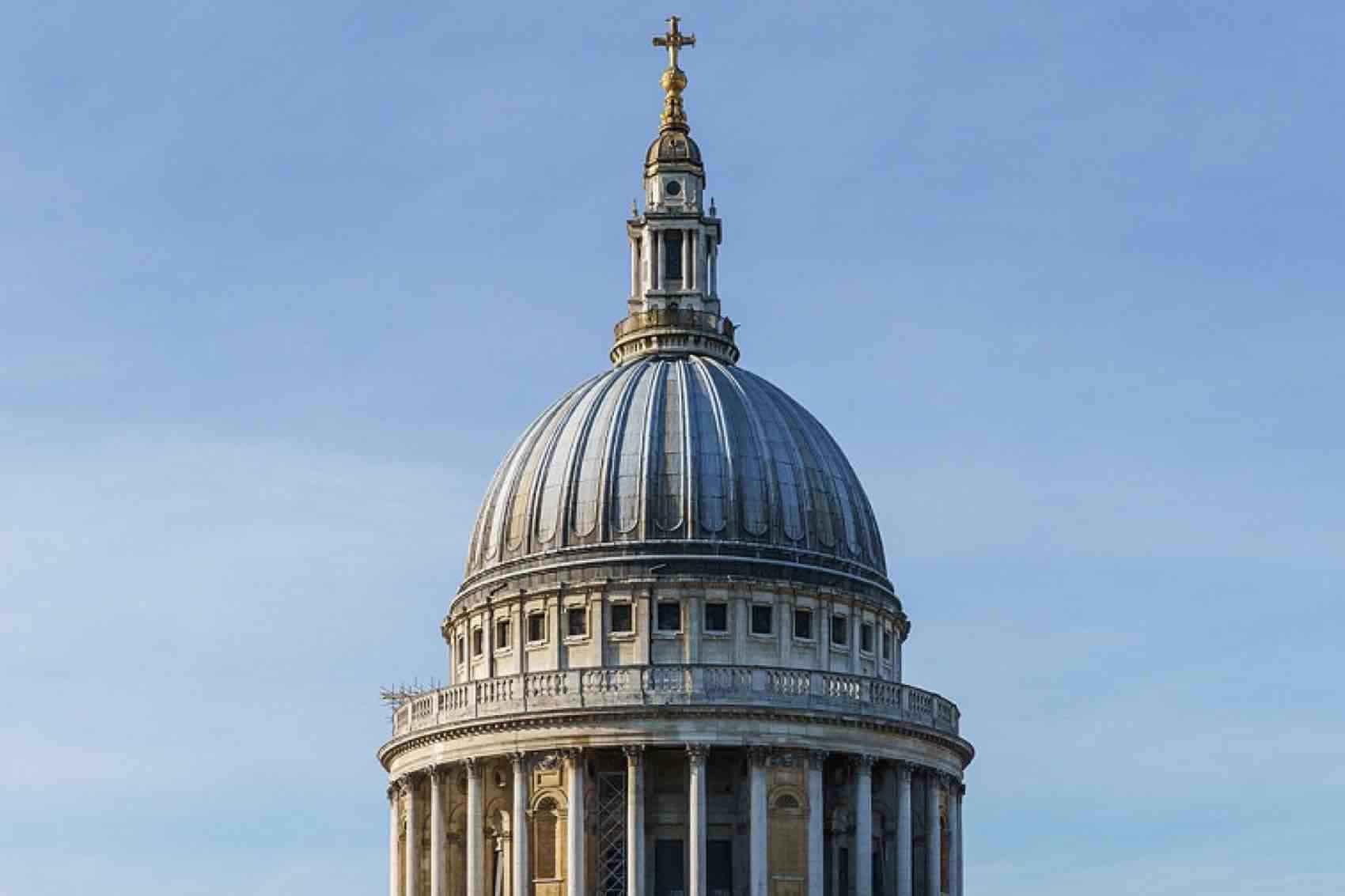 Kuppelen til St Paul´s Cathedral i London