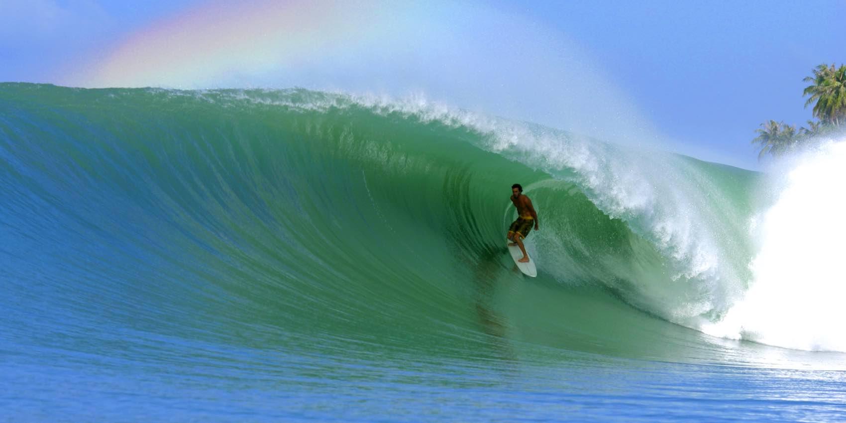 Kysten ved Dakar har perfekte forhold for surfing