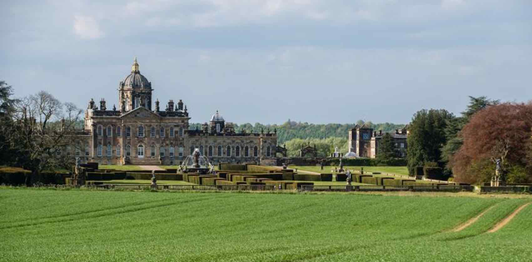 View from Gately Road, Castle Howard, York, England