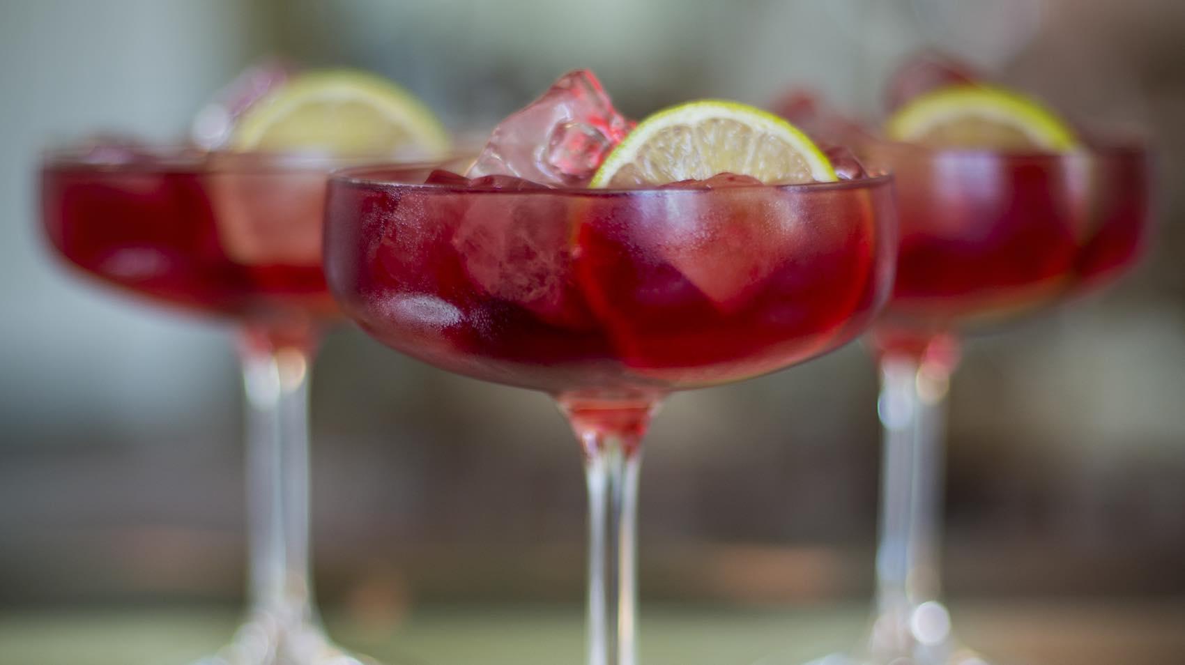 """""""The Rumer"""" heter denne. En cocktail dedikert til den engelske artisten Rumer."""