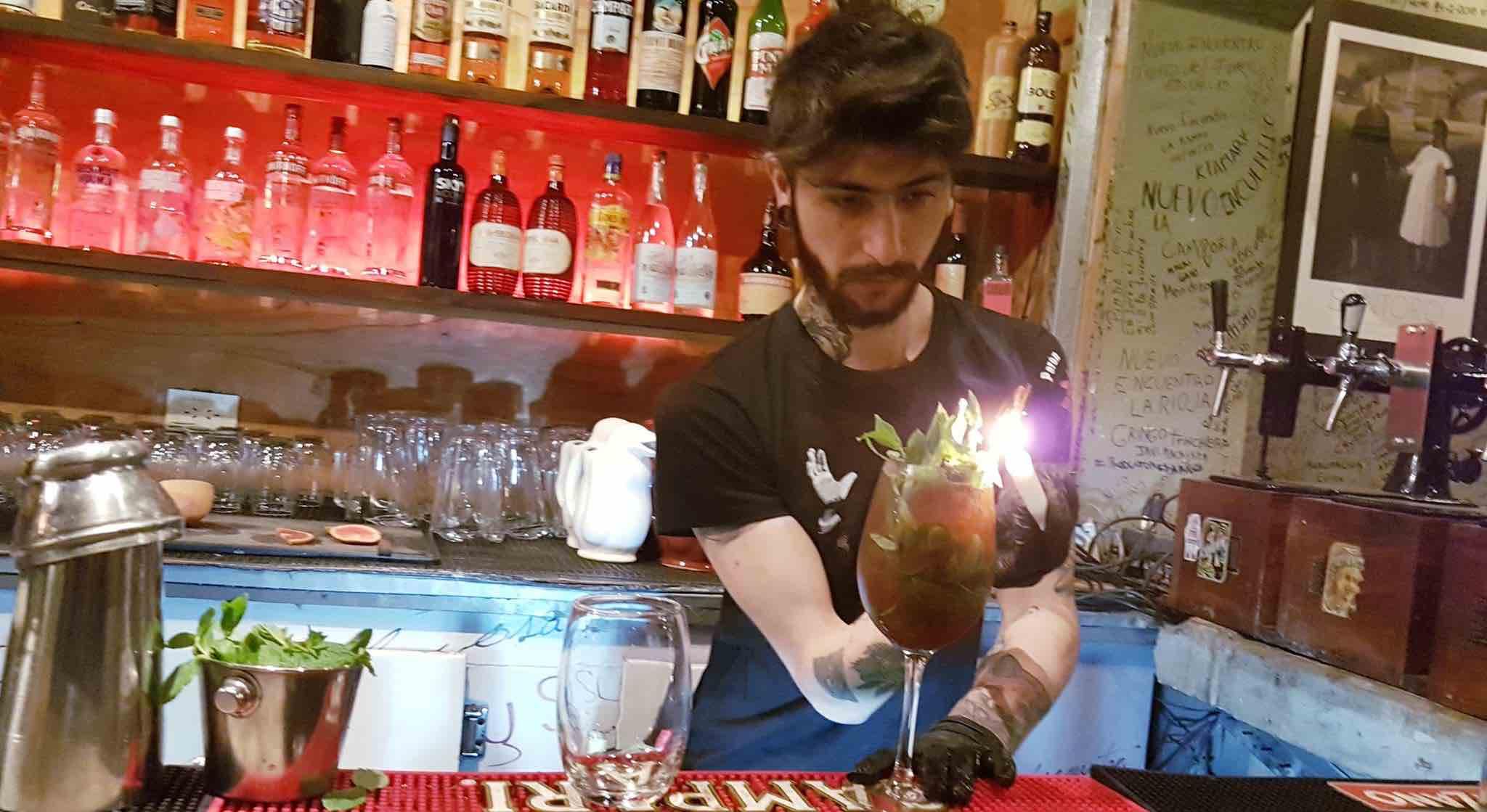 Siste Cocktail: Baren på Peron Peron er et historisk sted - også for nattens siste cocktail.