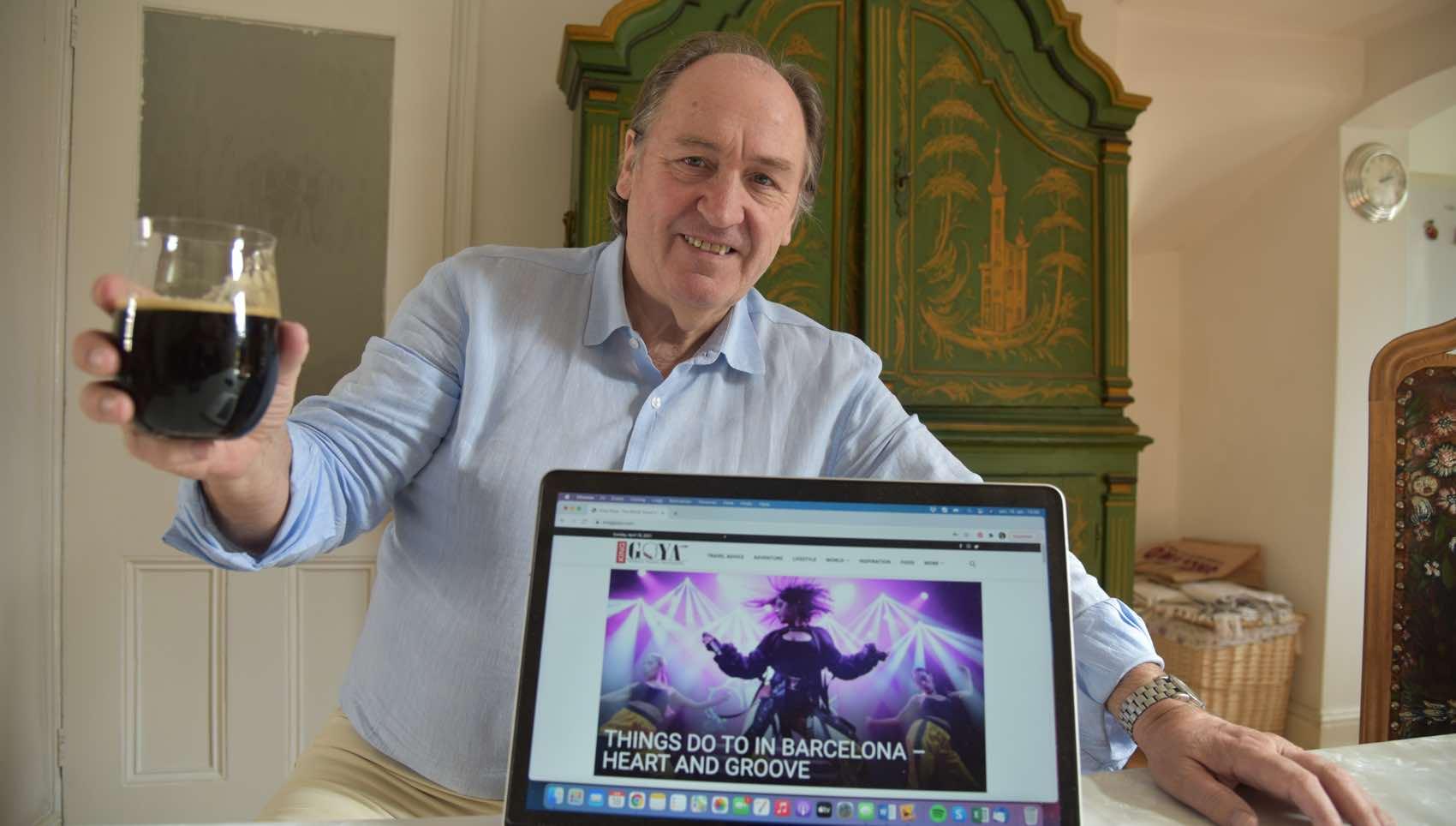PRISVERDIG: Alltid oppløftende med en internasjonal pris. Gudmund Lindbaek, redaktør og reise-journalist