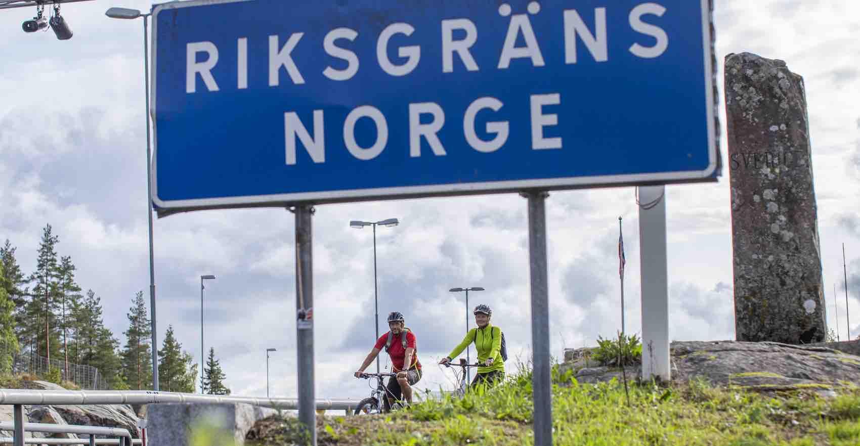 Nå er det skikkelig sykkelvei mellom Moss og Karlstad i Värmland