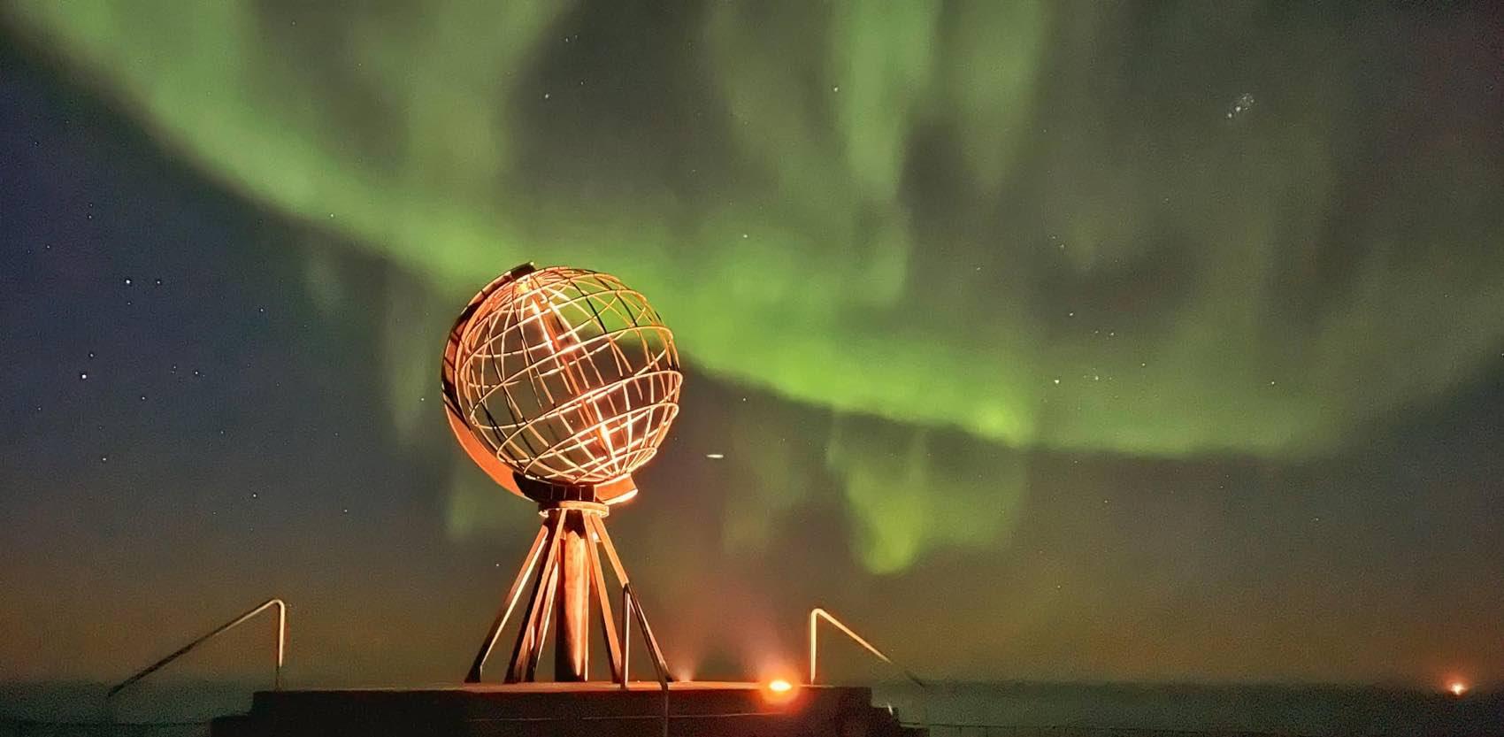 Når mørket returnerer kommer også nordlyset tilbake. Dette bildet er fra Nordkapp tatt i september. Foto: Hilde Fagerhaug